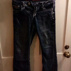 Distressed jeans size 12